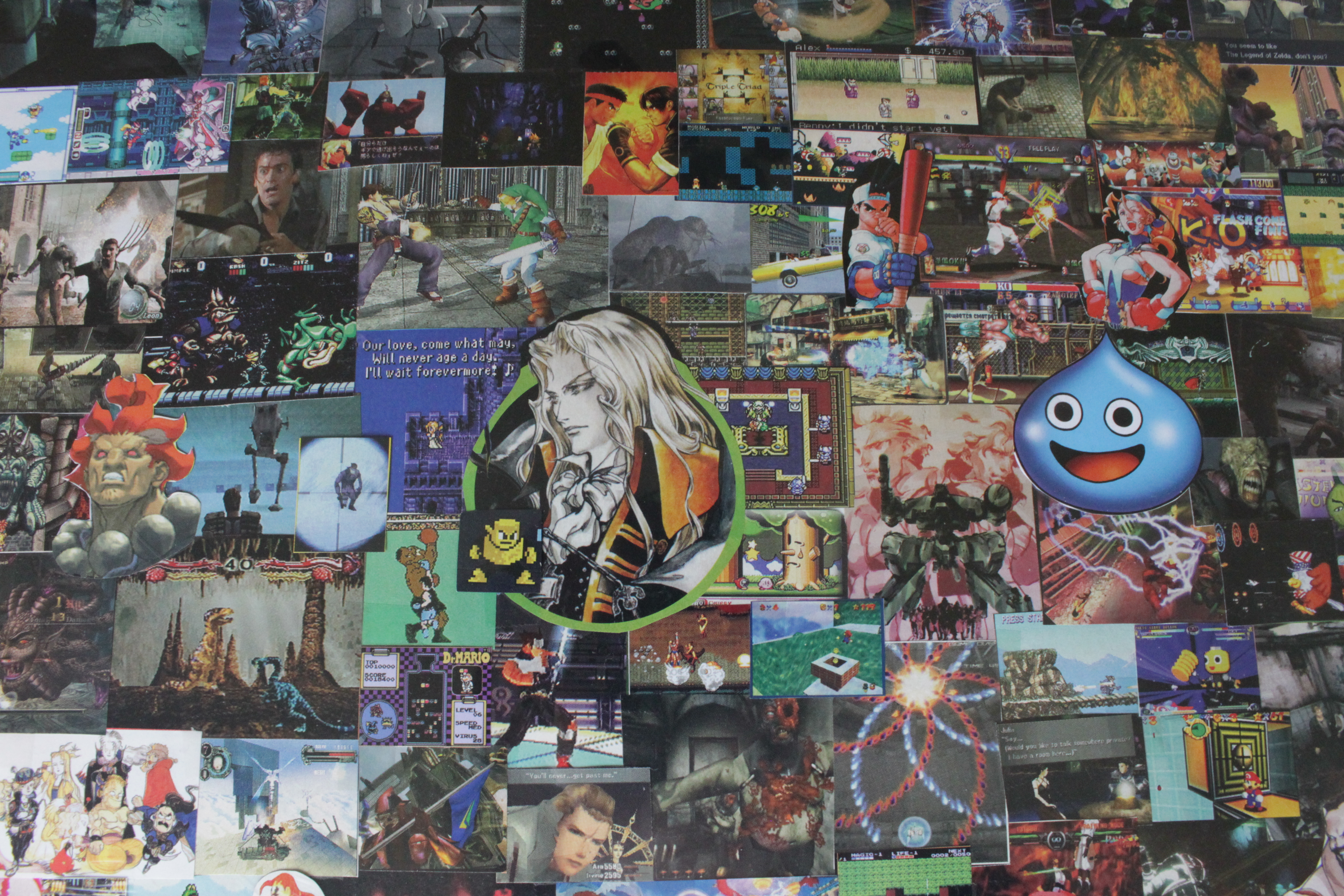Video Game Collages | Games I Made My Girlfriend Play