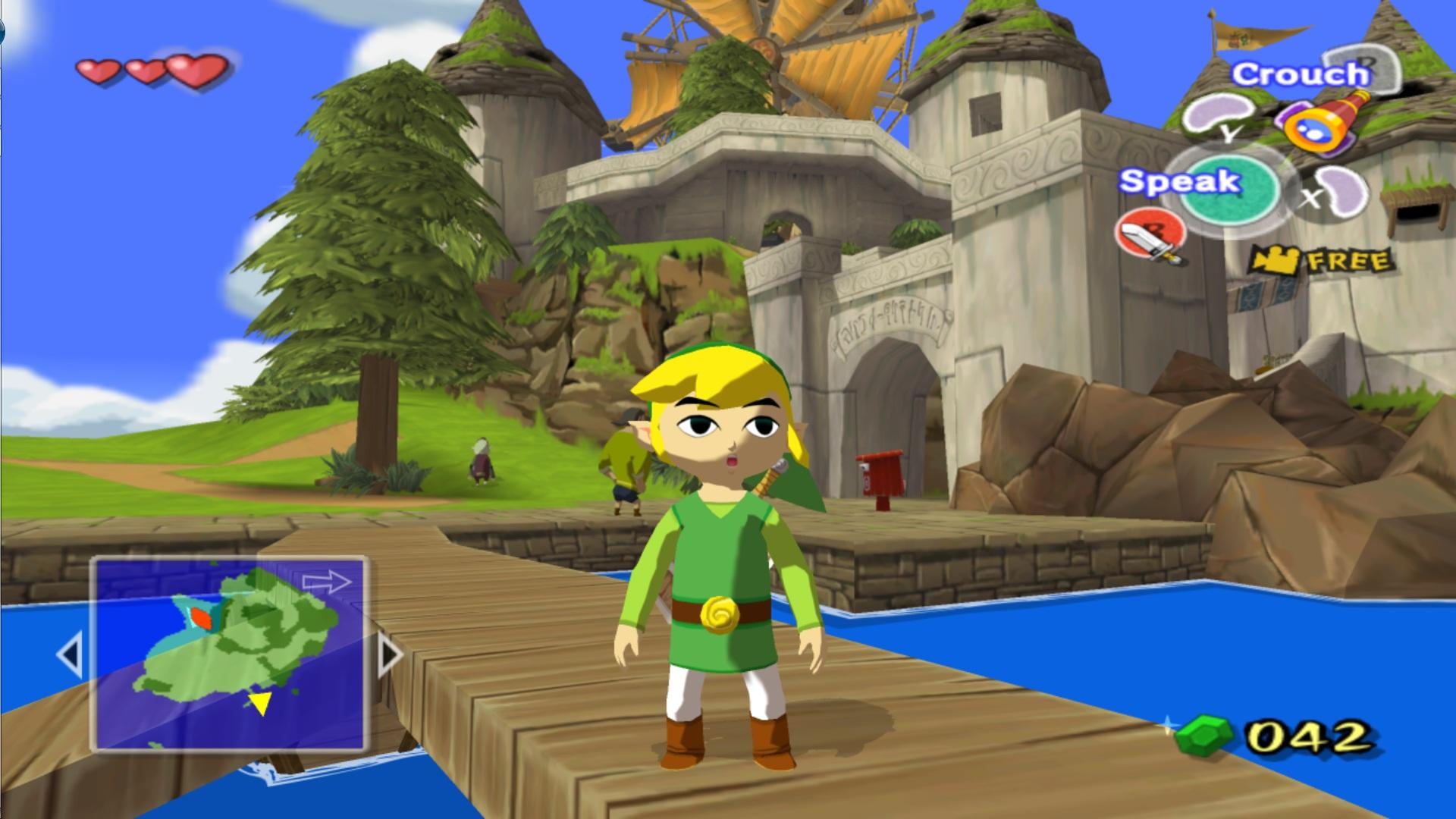 wind waker gamecube gameplay - best gamecube games